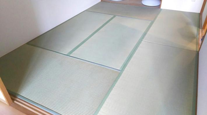 空き室畳表替え工事