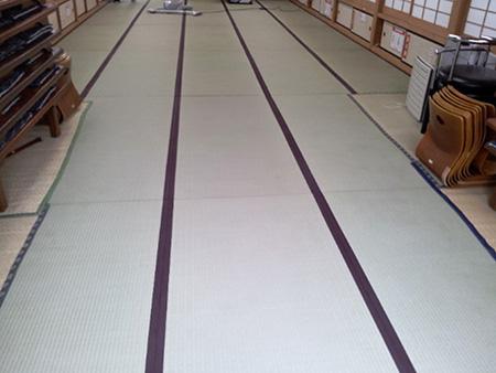 屋形船畳替え江東区オオタケ