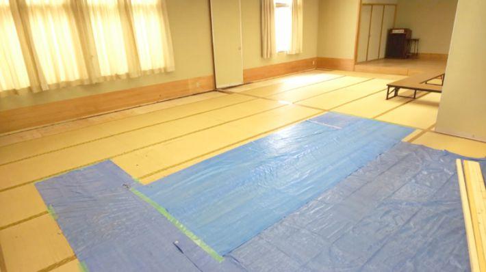 江東区大島集会所たたみ替工事オオタケ笑顔の工事前の写真